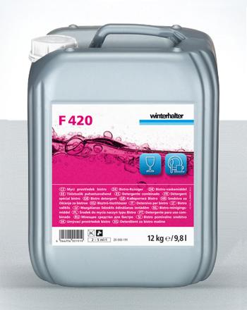 Reiniger F420 12kg bzw. 12kg